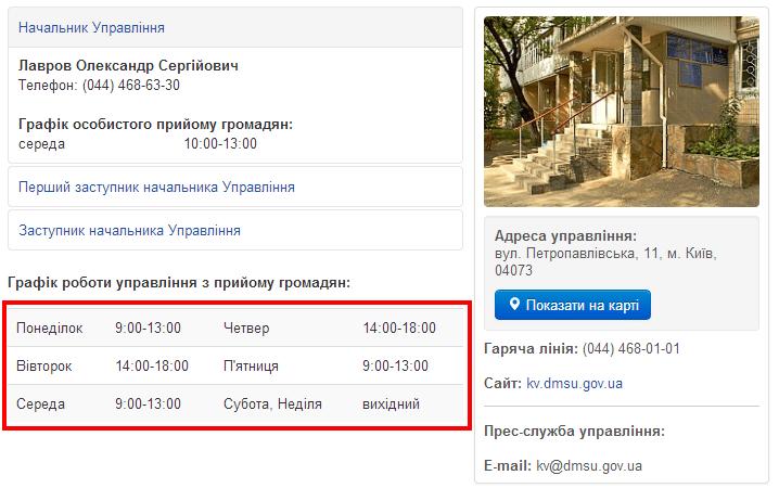 Управління ДМС у Київській області